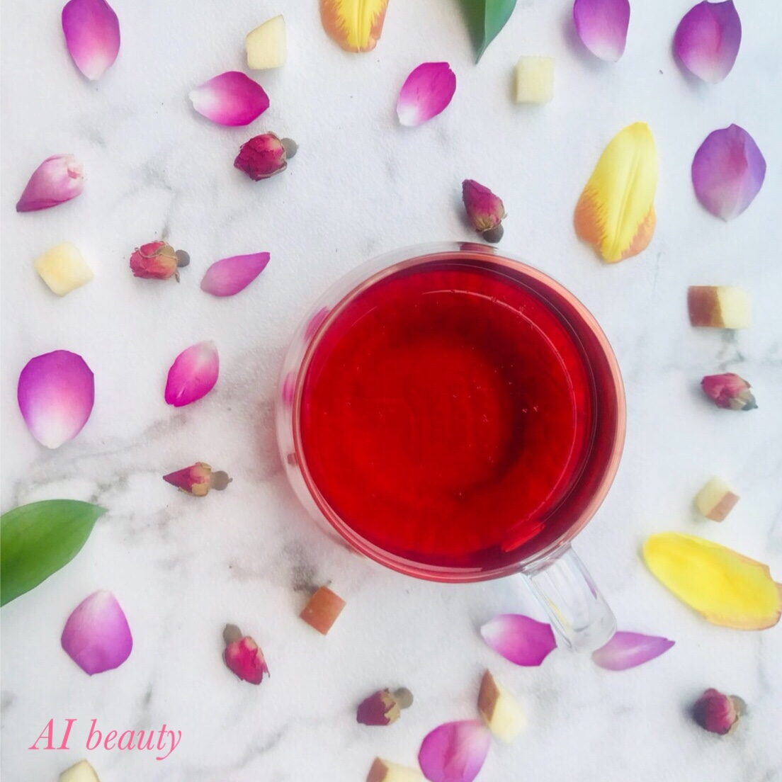 あなたの中の宝石が輝き出す☆AIオリジナル金星ティー☆jewelry fruits ☆