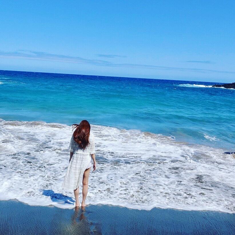 〜宝石で出来た砂浜〜ハワイ島レポ③