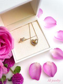 AI jewelry自分に恋するリングご感想❤️可愛くて上品でパワフル❤️