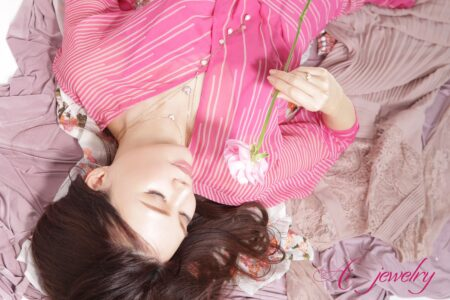 ☆AI jewelry spring collection☆自分に恋するリング☆ピンクサファイアデビュー♡