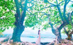 ①レムリアからの送り物☆湖の中から現れる…神秘のダイヤモンド☆女性性開花のハーフエタニティーリング☆